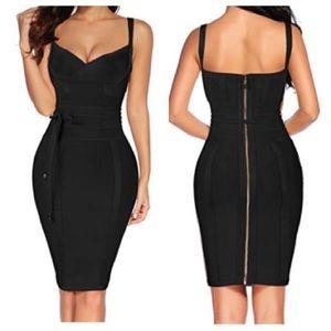 Blair Black Bandage Dress